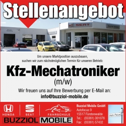 Stellenanzeige-Buzziol-Mobile-Mechatroniker